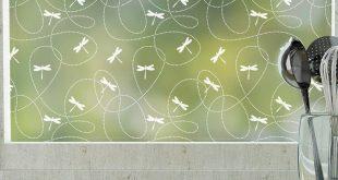 Libellen Privacy Window Film