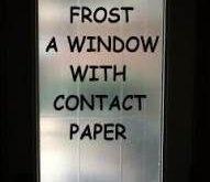 Neue Fensterbehandlungen im Badezimmer Privatsphäre Kontakt Papierideen