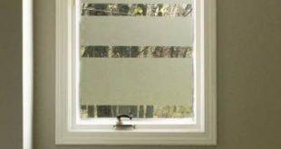 New Bathroom Window Diy Kontaktpapier 52+ Ideen