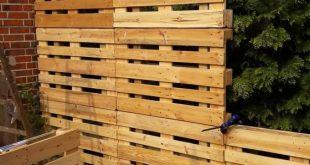 Paletten Recycling Jalousien Bauanleitung Bauen Sie sich selbst Bauen Sie sich selbst
