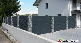 Sichtschutz Garten 2019 - Displayschutzfolie Eigenbau / Sichtschutzzaun, Zaun Team Granacher, Lauchringen, 79771 K
