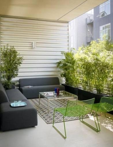Super Apartment Patio Sichtschutz Terrassen Ideen