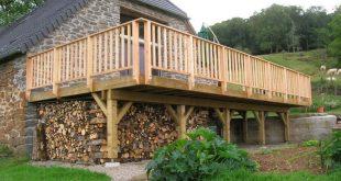 Terrassen am Ständerwerk - ▷ Holzterrasse: Die Bauanleitung zum selber bauen ...