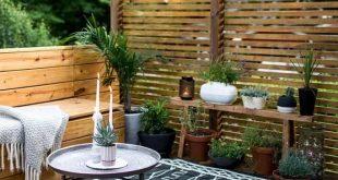 Wahnsinnig geniale und einfache DIY-Sichtschutzwände für Ihren Garten