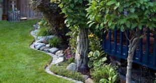 entlang des Gartenzauns Das ist es, was ich mit unserem Garten machen möchte !! So ...