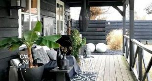 schwarze Veranda, #Gartenhaus #Schwarzes #Veranda,