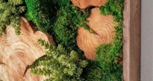 ▷ Über 1001 Ideen zu Moosbildern ergeben selbst ein schönes Moosbild mit frischen Pflanzen