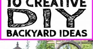 10 fantastische DIY Hinterhof-Ideen, zum eines besseren Yards zu errichten