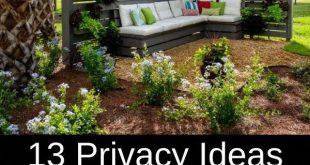 13 Datenschutz-Ideen, die Ihre Nachbarn vom Schnüffeln abhalten