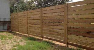 65 DIY Backyard Privacy Fence Design-Ideen mit kleinem Budget