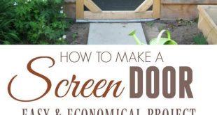 Machen Sie eine Gartentür