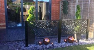 Alhambra Medium Garden Screen - 4 Fuß x 2 Fuß