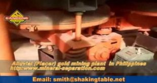 Alluvial Gold Ore Washing Plant Philippinen - Kapazität des Rohmaterials beträgt 300 ...