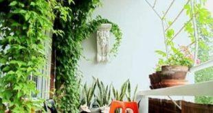 Apartment Balkon Privatsphäre Pergolen 19 Ideen