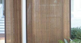"""Bambusvorhang für den Außenbereich, 40 """"B x 63"""" L"""