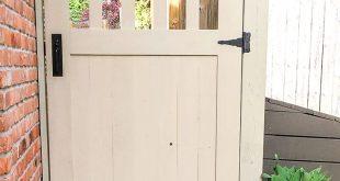 Bauen Sie mit diesen kostenlosen Bauplänen Ihr eigenes DIY-Gartentor. Gartentor, bauen