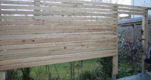 Bauen Sie selbst einen Holzzaun