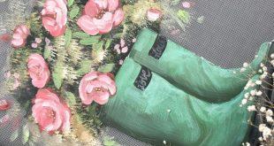 Blühen Sie, wo Sie gepflanzt werden, Bildschirmkunst, Portaldekor, ursprüngliche Kunst