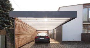 Carport des Architekten Armin Hägele