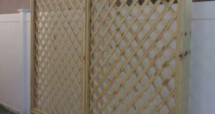 DIY-Sichtschutzgitter. Gebaut von 2 Frauen und mehreren Reisen nach Home Depot