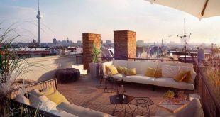 Dachterrasse gestalten - so geht's! - RESIDENTIAL CLAMOT