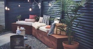 Der Hinterhof ist bereit und wartet auf den Sommer. Mehr auf dem Blog und in dieser Ausgabe o ...
