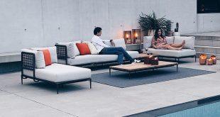 Eine Terrasse ist Ihr eigener Raum, auf der Sie sich entspannen und die Ruhe genie ...