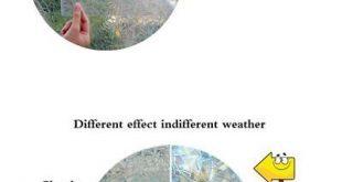 Fensterfolie 175757: Heiße neue dekorative Fensterfolien Rainbow Effect Privacy Windo ...