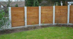 Garten Privatsphäre Holz