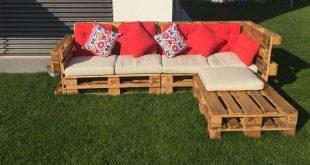 Gartenlounge ist cool, gerade im Sommer ist es toll, nach der Arbeit zu entspannen ...