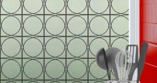 """George Oliver Moderne, nicht klebende Sichtschutzfolie Größe: 48 """"H x 36"""" B, Farbe: Schwarz, Wiederverwendbar: Nein"""
