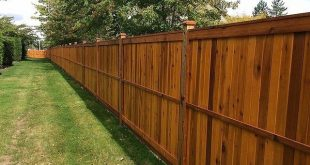 Günstigster Weg, um einen Holz-Sichtschutz zu bauen