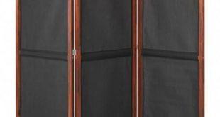 IKEA SLATTO Schwarz, braun gebeizter Sichtschutz, außen
