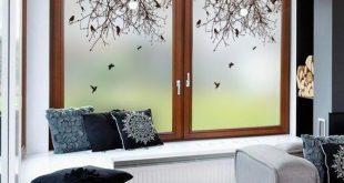 Kunst-Buntglas-Aufkleber für Fenster-dekorativen Film bereiften undurchsichtigen Privatleben-Fenster-Film für das Leben