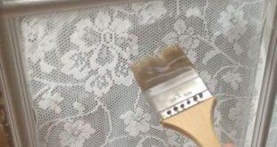 Lace Window Treatment mit Maismehl Lace Window Treatment mit Maismehl Die ...