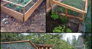 Machen Sie Ihr eigenes Garten-Hochbeet mit Sichtschutz