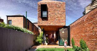 Matt Gibson hat ein denkmalgeschütztes viktorianisches Haus in Melbourne umgebaut, ...