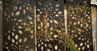 Moderne Gartenzäune schaffen Privatsphäre im Außenbereich