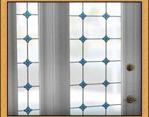 Monterey Bay Glasmalerei Privatsphäre Fensterfolie ich habe THS in lebenden R ...