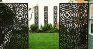 Moucharabiya - Große Gartenleinwand