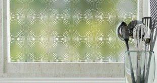 Radiant Privacy Window Film (nicht klebend) - Standard 36 Zoll x 48 Zoll