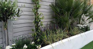 Render Wände Pflanzen kleinen Garten Design gemalt Zaun London Website mit ...