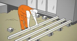 Schritt für Schritt eine Holzterrasse bauen