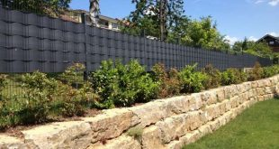 Sichtschutz für Zäune - Premium