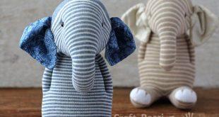Socken-Elefanten