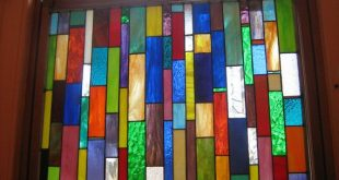 Stained Glass Curtain Privacy Window von stanfordglassshop auf Etsy, $ 375.00
