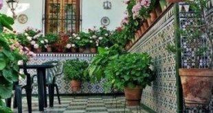 Terrassenideen eines gemütlichen Hinterhofs in Frankreich 08
