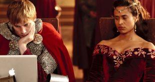 """Was es besser macht, ist, dass die Königin ihn so ansieht: """"Du bist der O ..."""