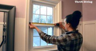 Wie erstelle ich ein DIY Sichtschutzfenster? - Wie messe ich das Innere meines Windes?