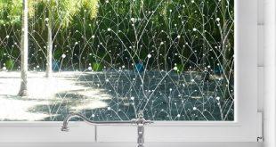 Willow Privacy Window Film - Zum Abtönen von Fenstern zu Hause